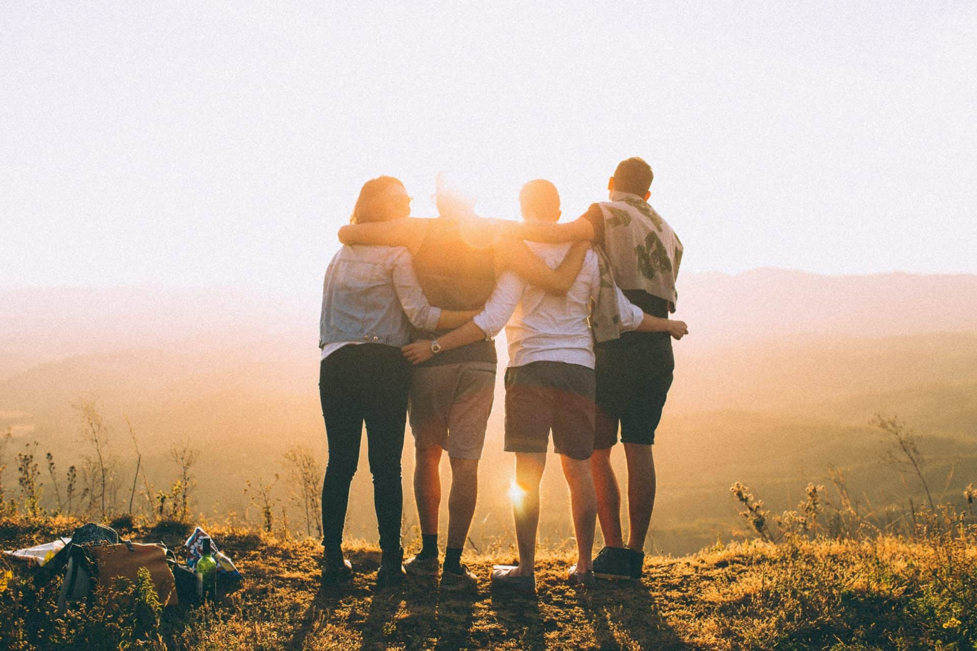 The importance of friendship when raising a child